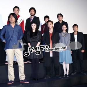 「るろうに剣心」公開初日舞台挨拶に佐藤 健らキャスト、監督登壇!