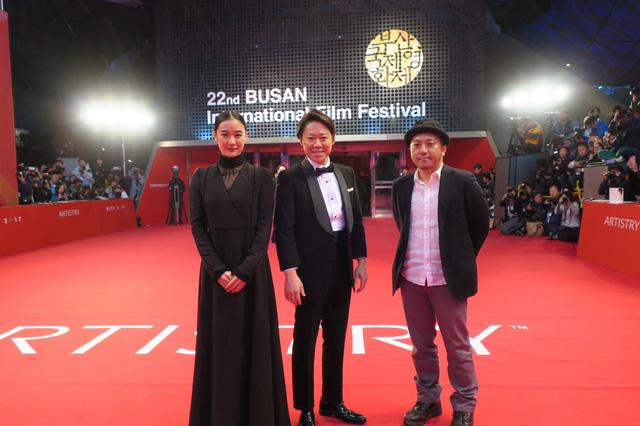 釜山国際映画祭レッドカーペット模様①1