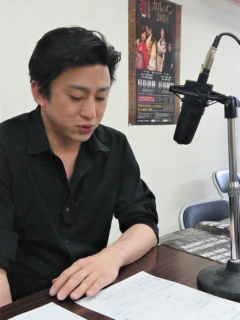 松本幸四郎収録様子②-(002)