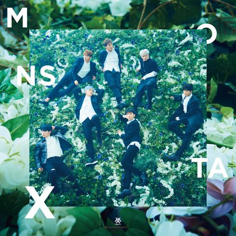 1MONSTA-X_Beautiful初回限定盤B