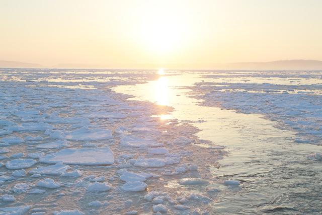 「風の色」写真流氷1