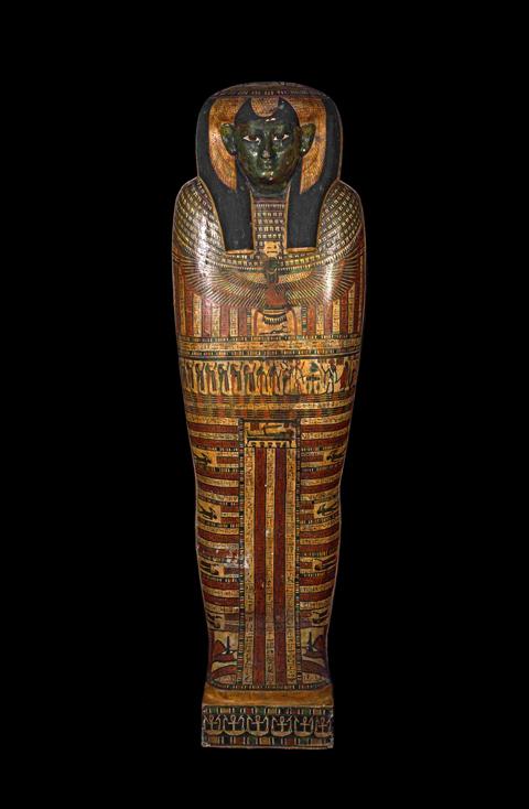 (3)古代エジプトのミイラ棺-2