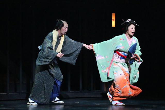 【近松】舞台写真/池田成志_小池栄子-(002)s