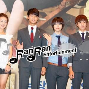 SHINeeのチェ・ミンホらK-POPアイドルが出演、ドラマ「花ざかりの君たちへ」制作発表会