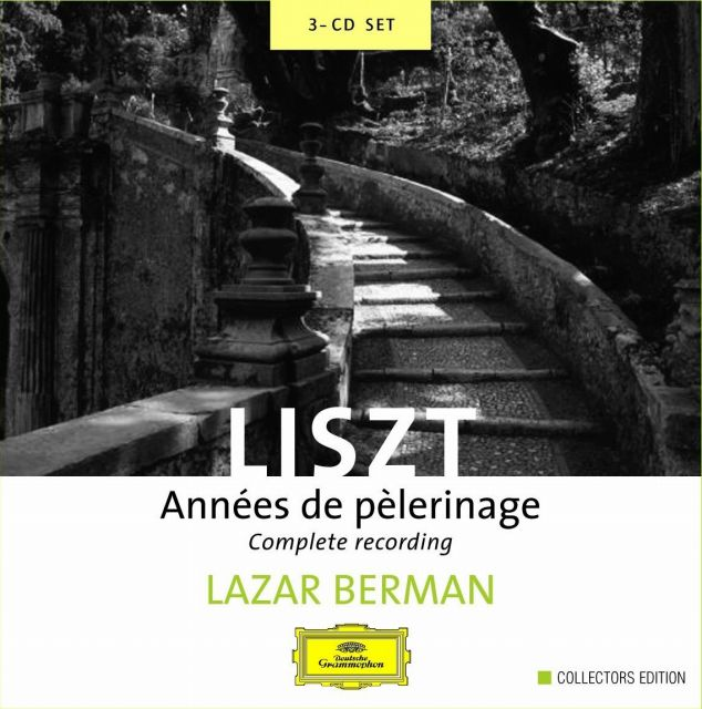 s-フランツ・リスト作曲、ラザール・ベルマン演奏の「巡礼の年」音楽配信_輸入盤4714472_ジャケ写真