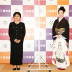 (合同取材会)左から泉ピン子、坂本冬美②s