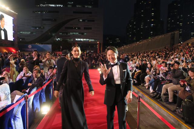 釜山国際映画祭レッドカーペット模様②1