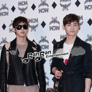 東方神起出席'MCM 2011 SPRING/SUMMER COLLECTION'