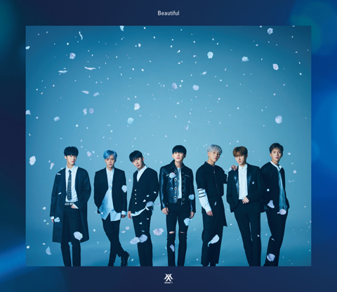 1MONSTA-X_Beautiful初回限定盤A