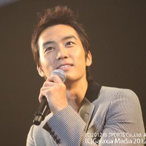 ソン・スンホン、ファンミーティング「Song Seung Heon Japan Fan Meeting 2012 自覺夢」開催