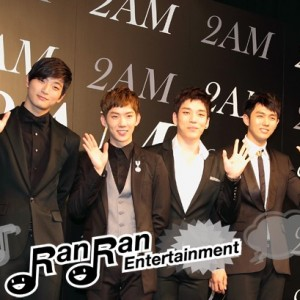 2AM、日本デビユー曲公開レコーディング&記者会見開催!