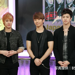 MBLAQ『MADE IN BS JAPAN』生放送、密着レポート!