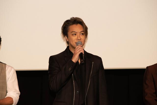 TAKAHIROさん『3人の信長』公開記念舞台挨拶s