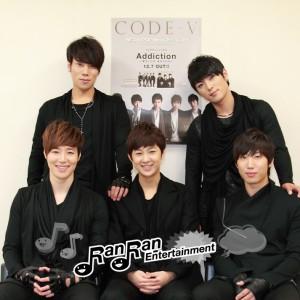 CODE-V(コードヴイ)12月7日(水)に日本プレデビューシングルリリース!