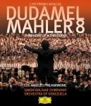 """史上最大のスケールで贈る、1400人で奏でる感動の嵐!最も人気のある若手カリスマ指揮者""""ドゥダメル""""マーラー《千人の交響曲》のライヴ映像作品がリリース!"""