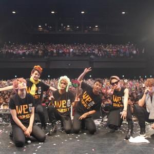 BEAST全国ツアー「ZEPP TOUR 2012[We]」最終公演でファン熱狂!