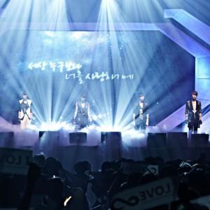 INFINITE、ヘリコプターで韓国全土5ヶ所をめぐる大規模ショーケース開催!
